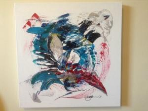 20 x 20 acrylic on gallery canvas